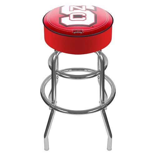 North Carolina State Wolfpack Padded Swivel Bar Stool