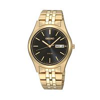 Seiko Men's Stainless Steel Solar Watch - SNE044
