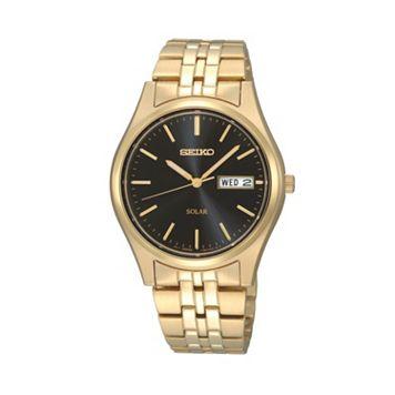 Seiko Men's Stainless Steel Solar Watch - SNE044
