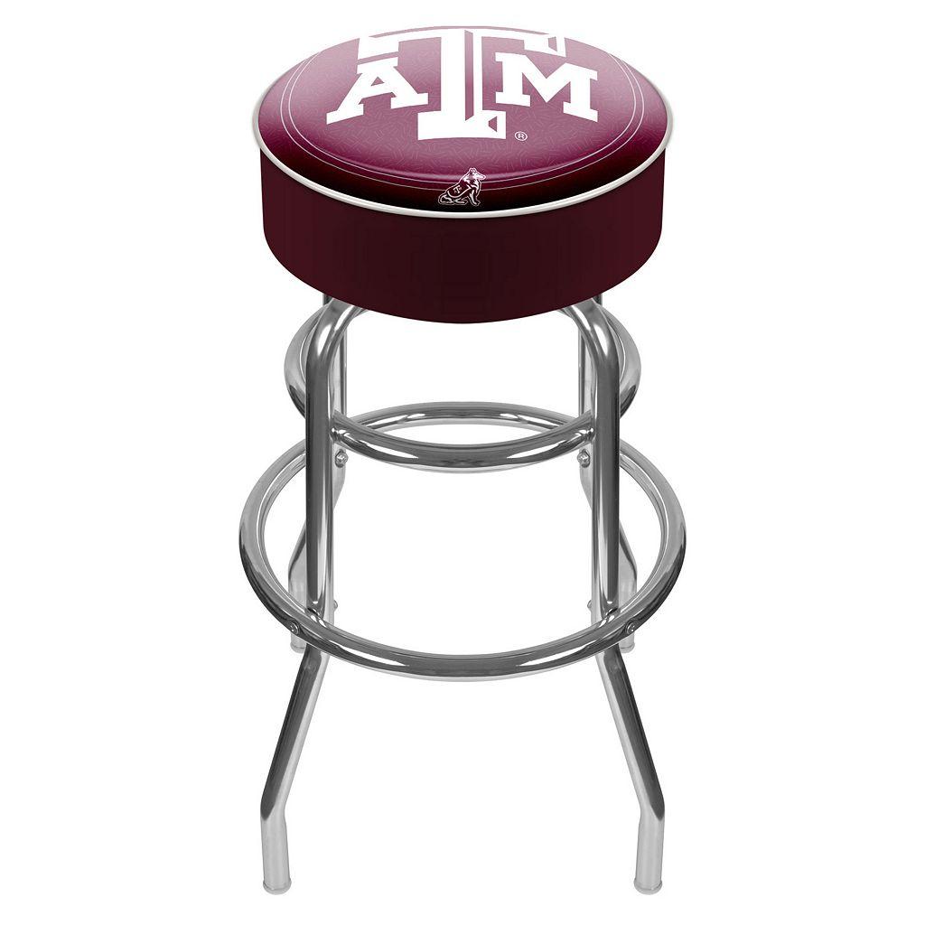 Texas A&M Aggies Padded Swivel Bar Stool