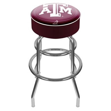 Texas A&M Aggies Padded Swivel Bar Stool