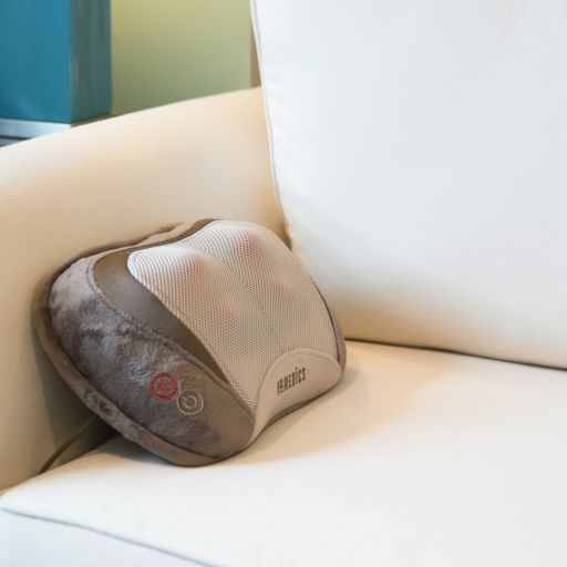 HoMedics 3D Shiatsu + Vibration Massage Pillow with Heat
