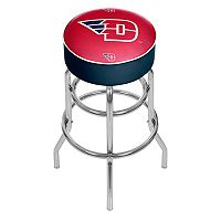 Dayton Flyers Padded Swivel Bar Stool