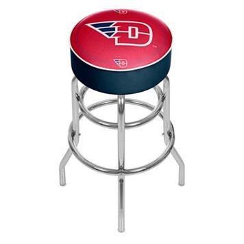 Dayton Flyers Padded Swivel Bar Stool