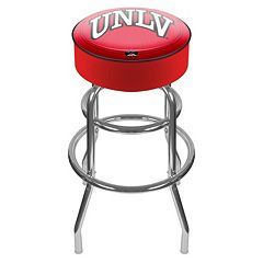UNLV Rebels Padded Swivel Bar Stool