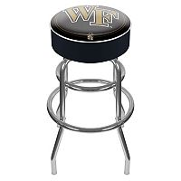 Wake Forest Demon Deacons Padded Swivel Bar Stool