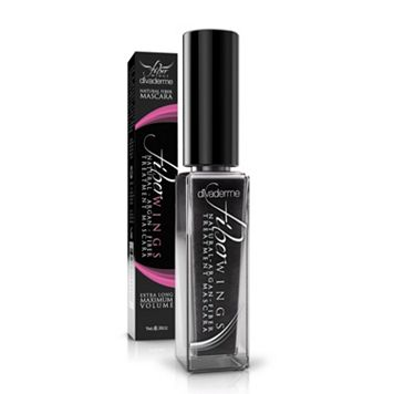Divaderme Fiber Wings Natural Fiber Treatment Mascara