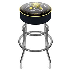Wichita State Shockers Padded Swivel Bar Stool