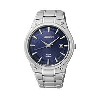 Seiko Men's Stainless Steel Solar Watch - SNE323