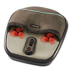 HoMedics Shiatsu Air Compression Foot Massager with Heat