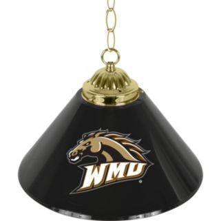 "Western Michigan Broncos Single-Shade 14"" Bar Lamp"