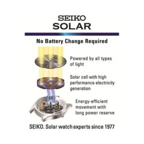 Seiko Men's Solar Watch - SNE331