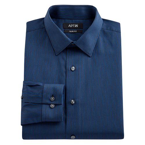 Mens marc anthony dress shirts slim tops clothing kohl 39 s for Tony collar dress shirt
