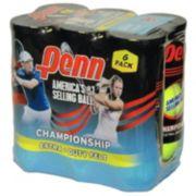 Penn Championship Extra Duty 6-Can Tennis Ball Pack (18 Balls)