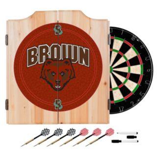 Brown Bears Wood Dart Cabinet Set