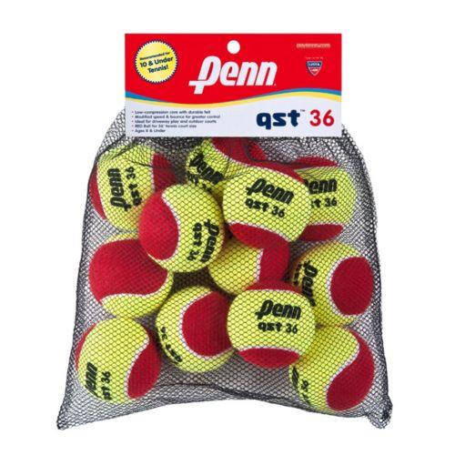 Penn QST 36 Felt Reduced Speed 12-Ball Mesh Bag - Youth