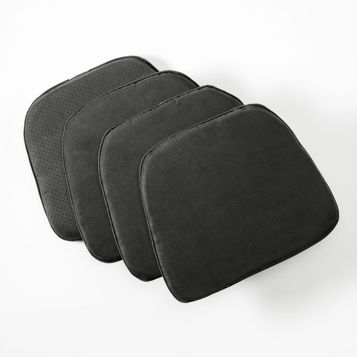 Doeskin Faux Suede Chair Pad 4 Pack
