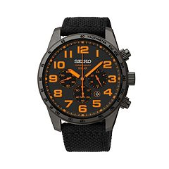 Seiko Men's Solar Chronograph Watch - SSC233