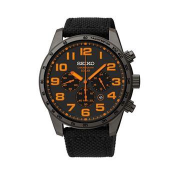 Seiko Men S Solar Chronograph Watch Ssc233