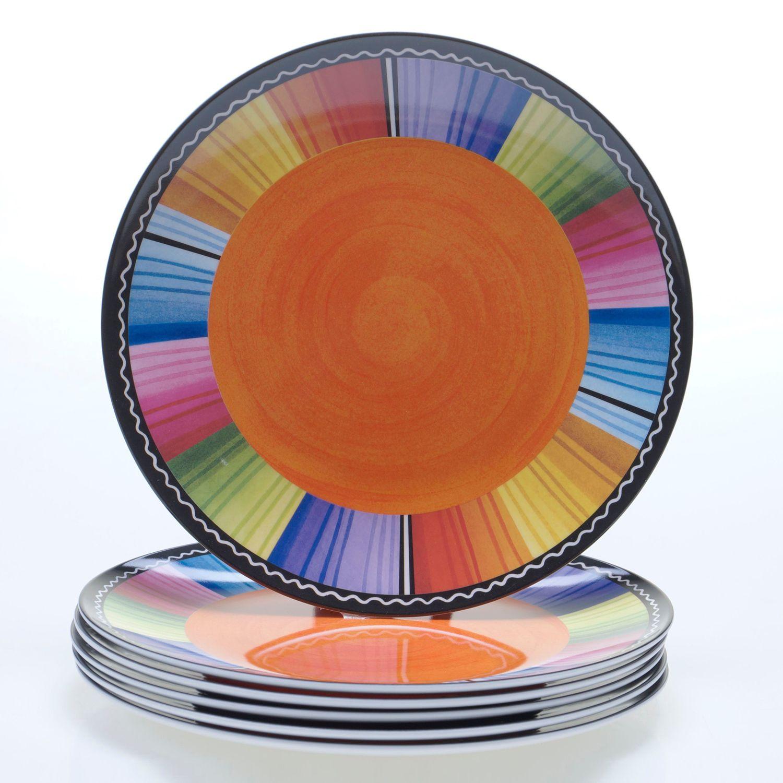 Certified International Serape by Nancy Green 6-pc. Melamine Salad Plate Set  sc 1 st  Kohlu0027s & Certified International Serape by Nancy Green 6-pc. Melamine Salad ...
