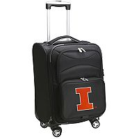 Illinois Fighting Illini 20 in Expandable Spinner Carry-On