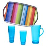 Certified International Serape by Nancy Green 8-pc. Beverage Set