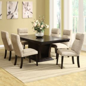 HomeVance Sommerton 7-pc. Extendable Dining Table and Chair Set