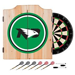 North Dakota Wood Dart Cabinet Set