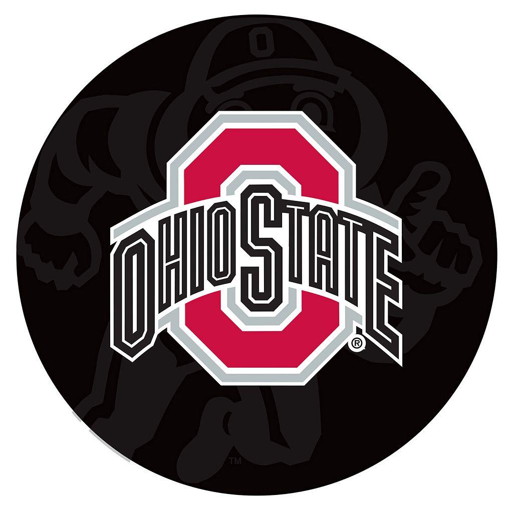 Ohio State Buckeyes Padded Swivel Bar Stool