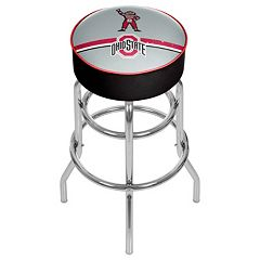 Ohio State Buckeyes Padded Swivel Bar Stool