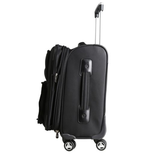Oklahoma Sooners 20-in. Expandable Spinner Carry-On