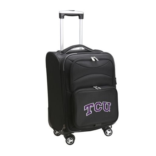 TCU Horned Frogs 20-inch Expandable Spinner Carry-On