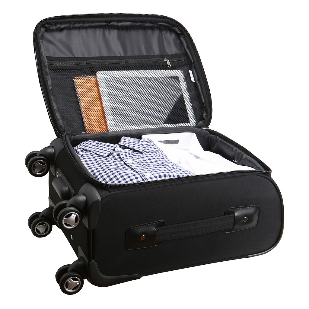 Utah Utes 20-in. Expandable Spinner Carry-On