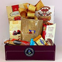 Fifth Avenue Gourmet Chocolate Delights Gift Basket