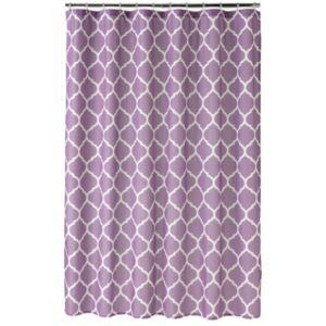 Home Classics® Trellis Fabric Shower Curtain