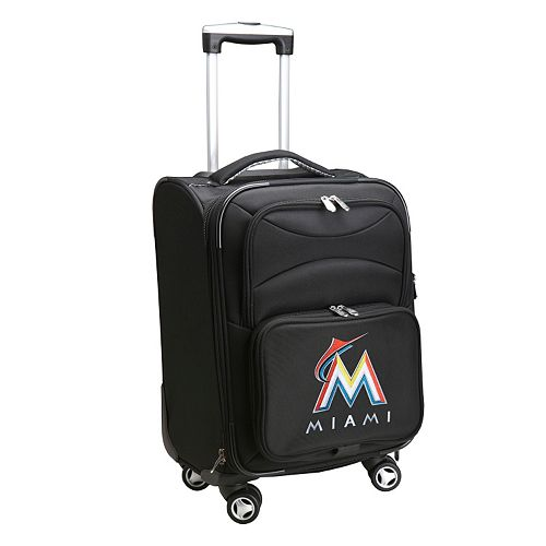 Miami Marlins 20-in. Expandable Spinner Carry-On