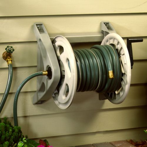 Handler 200 ft Garden Hose Reel Outdoor