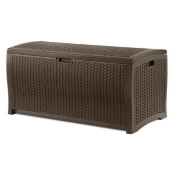 Suncast 73-Gallon Storage Box - Outdoor