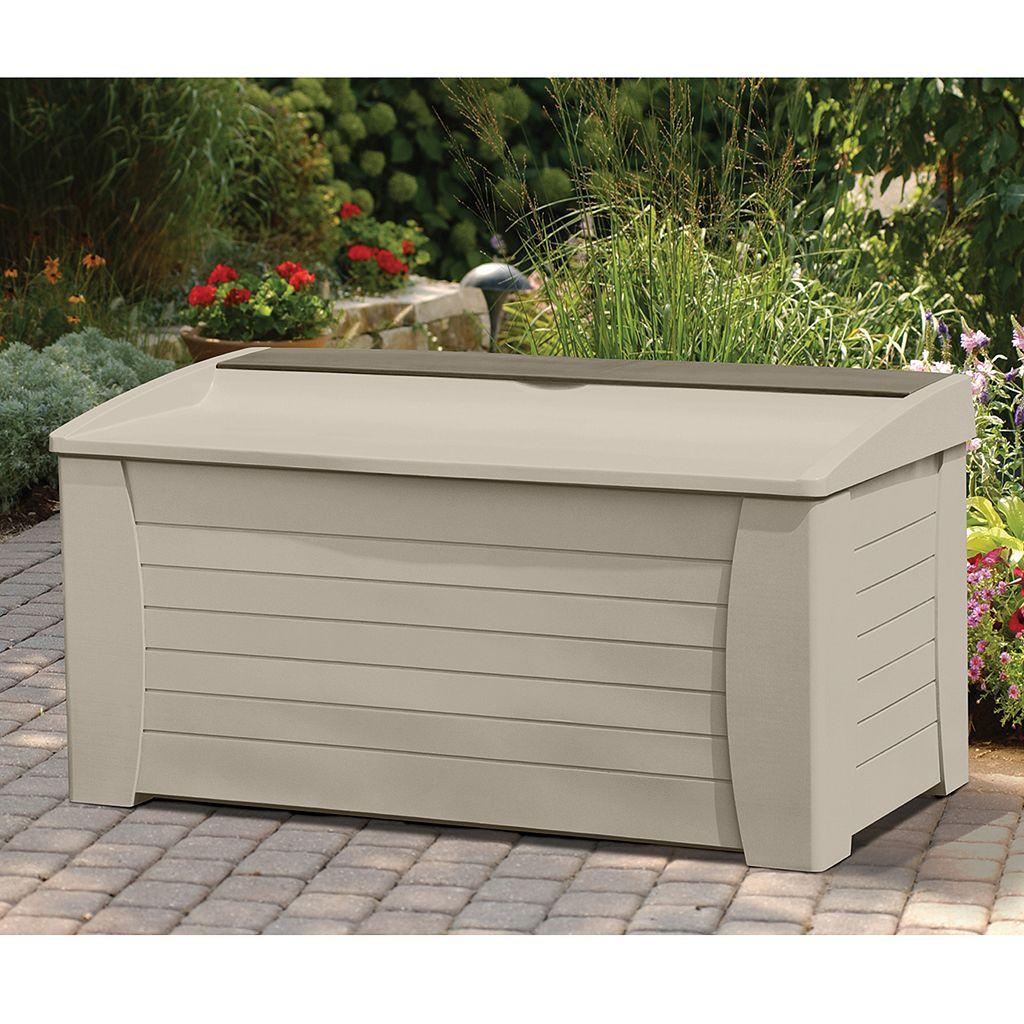 Suncast 127-Gallon Storage Box - Outdoor