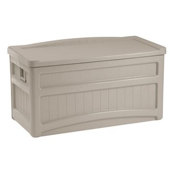 Suncast 73-Gallon Wheeled Storage Box - Outdoor