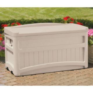 Suncast 73-Gallon Wheeled Storage Box - Outdoor