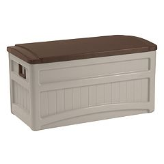 Suncast 73-Gallon Deluxe Storage Box - Outdoor