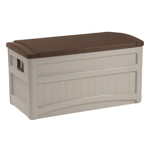 Suncast 73-Gallon Deluxe Storage Box - Outdoor