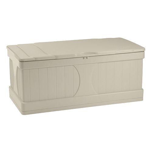 Suncast 99-Gallon Storage Box - Outdoor