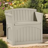 Suncast 31-Gallon Storage Patio Seat - Outdoor