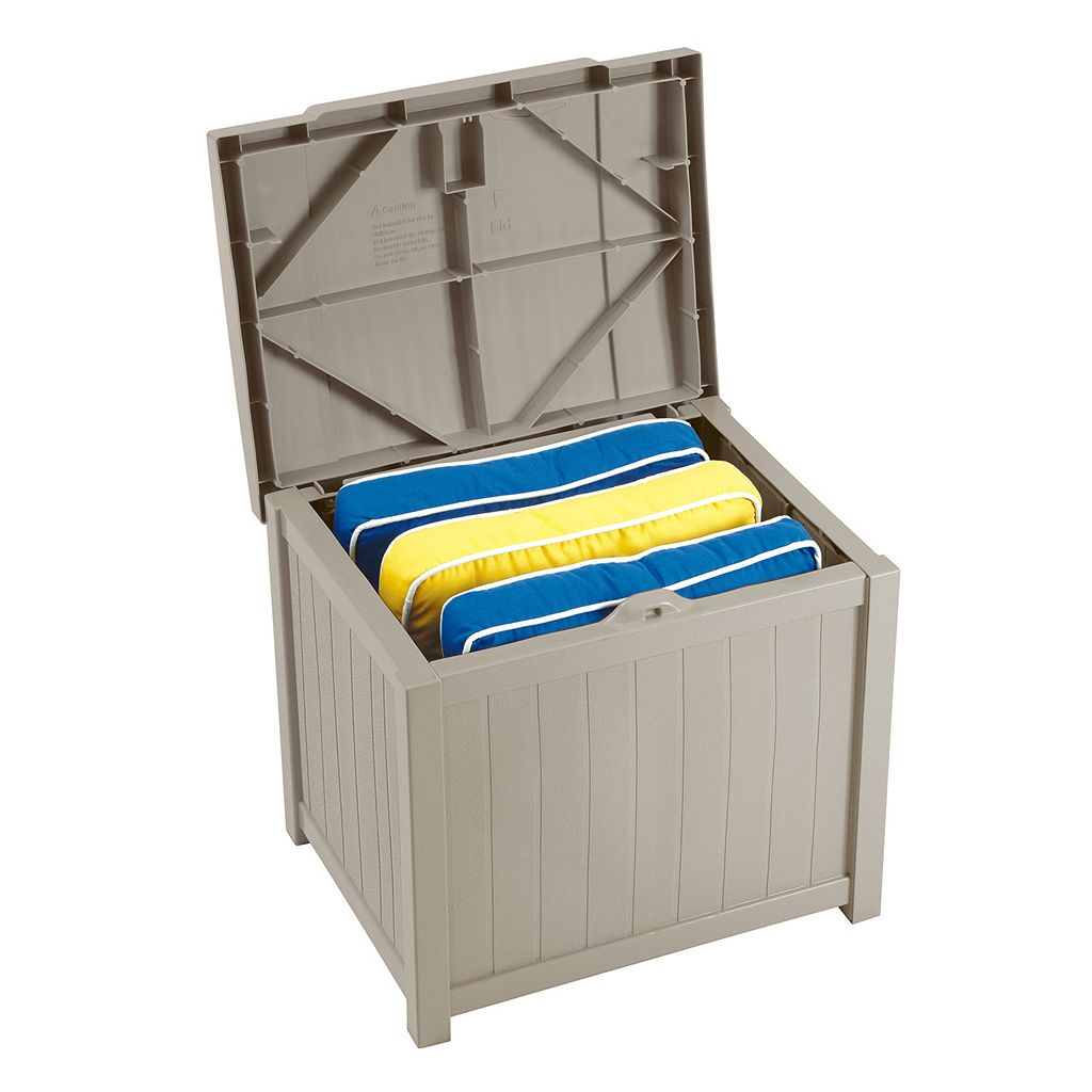 Suncast 22-Gallon Storage Box - Outdoor