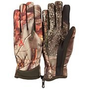 Huntworth Stealth Series Oak Tree EVO Camouflage Fleece-Lined Shooting Gloves - Men