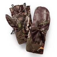 Huntworth Stealth Series Oak Tree EVO Camouflage Pop-Top Shooting Gloves - Men