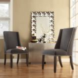 HomeVance Park Row 2-pc. Wingback Hostess Chair Set