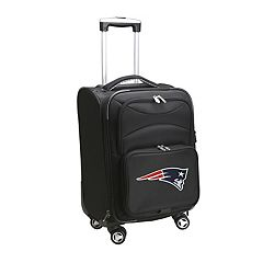 New England Patriots 20 in Expandable Spinner Carry-On